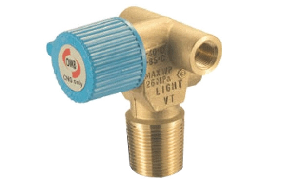 OMB CNG TANK MANUAL VALVE LIGHT